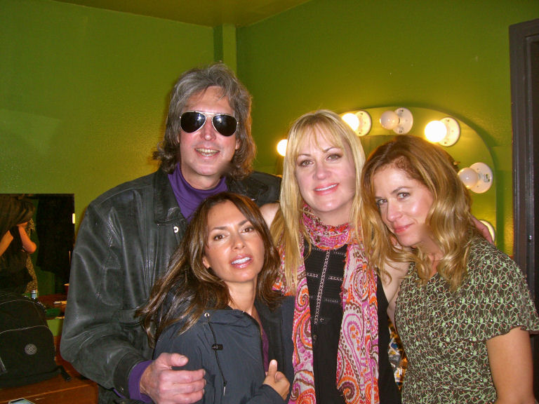 Dave with The Bangles