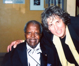 Dave With Oscar Peterson
