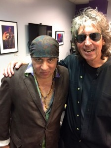 Stevie Van Zandt and David Kessel