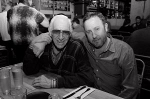 Jerry Heller and his nephew Terry Heller. Photo credit: Elizabeth Fried